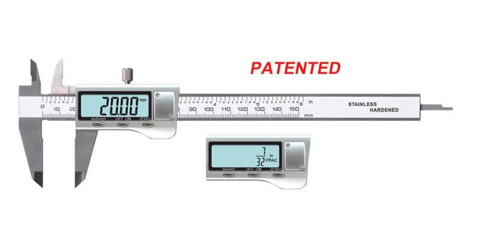 金属壳亚博体育官方版卡尺(专利产品)